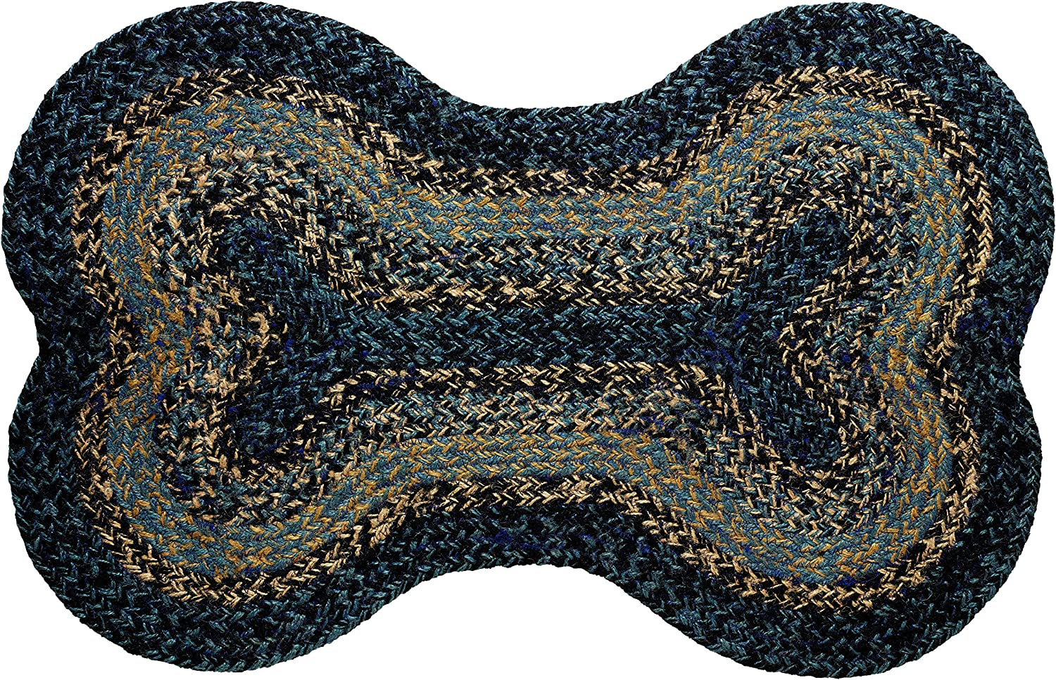 IHF Home Decor River Shale Braided Rug 20