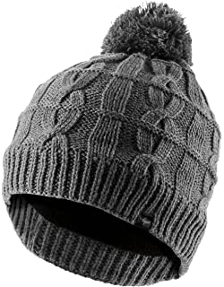 Sealskinz Cable Knit Bobble Beanie Hat - Black 1a2aaf249f1