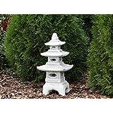 Hivernage Pagode japonaise lanterne de pierre en pierre fonte