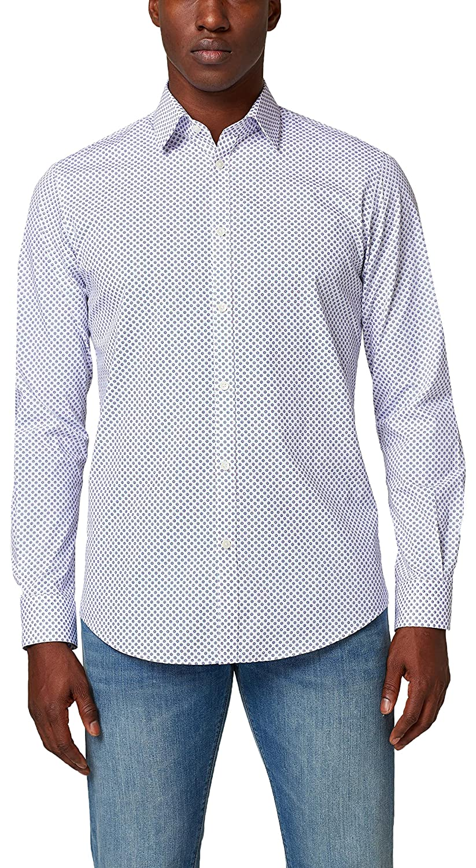TALLA 41-42. ESPRIT Collection 127eo2f006 - Camisa Hombre