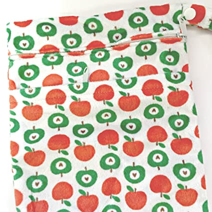 Cheeky Wipes pañales reutilizables Swim doble wetbag (dos bolsillo) pequeño/tamaño mediano/