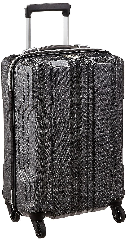[レジェンドウォーカー] スーツケース 新素材PCファイバー採用 機内持込可 保証付 35L 48cm 1.9kg 5603-48  ブラックカーボン B077Y2SF2P