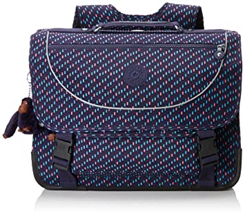 Kipling Preppy Mochila infantil, 41 cm, 15 liters, Varios colores (Blue Dash C): Amazon.es: Equipaje