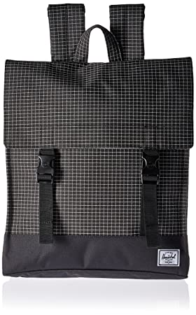 Sac à dos Herschel Survey Black Grid/Black noir