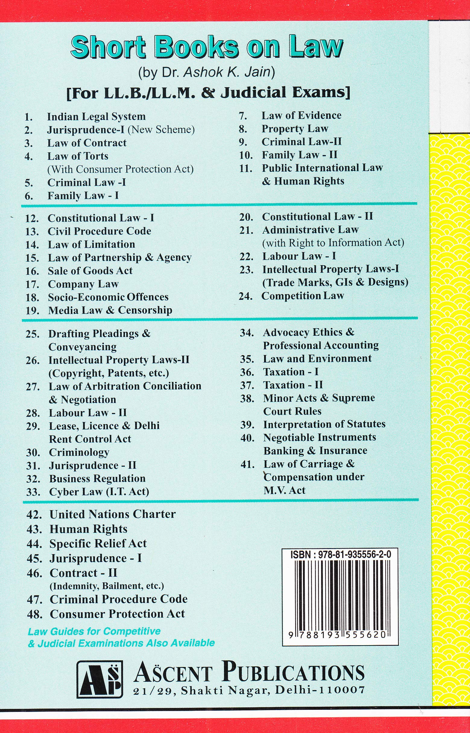 Buy Law of Contract (Leading Cases & Materials Book Online
