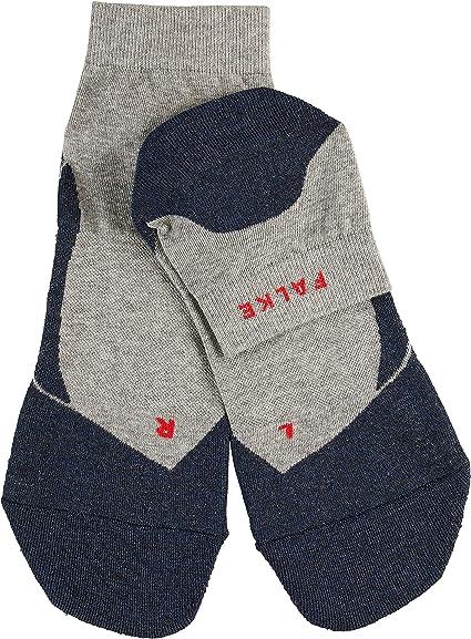 Hombre Baumwollmischung Calcetines RU4 Short Falke Allrounder-Running-Socke mit mittelstarker Polsterung