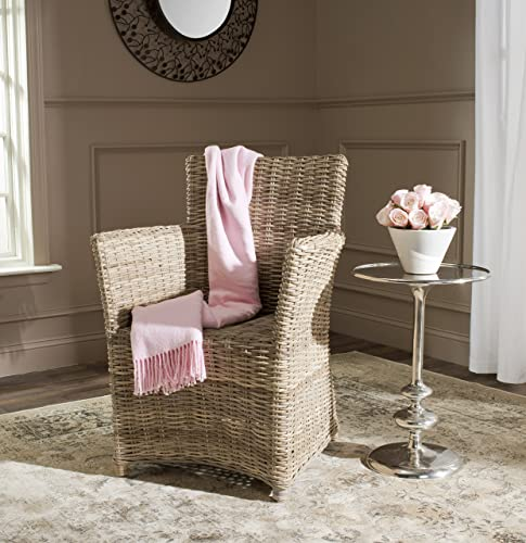 Safavieh Home Collection Natuna Soft Grey Arm Chair