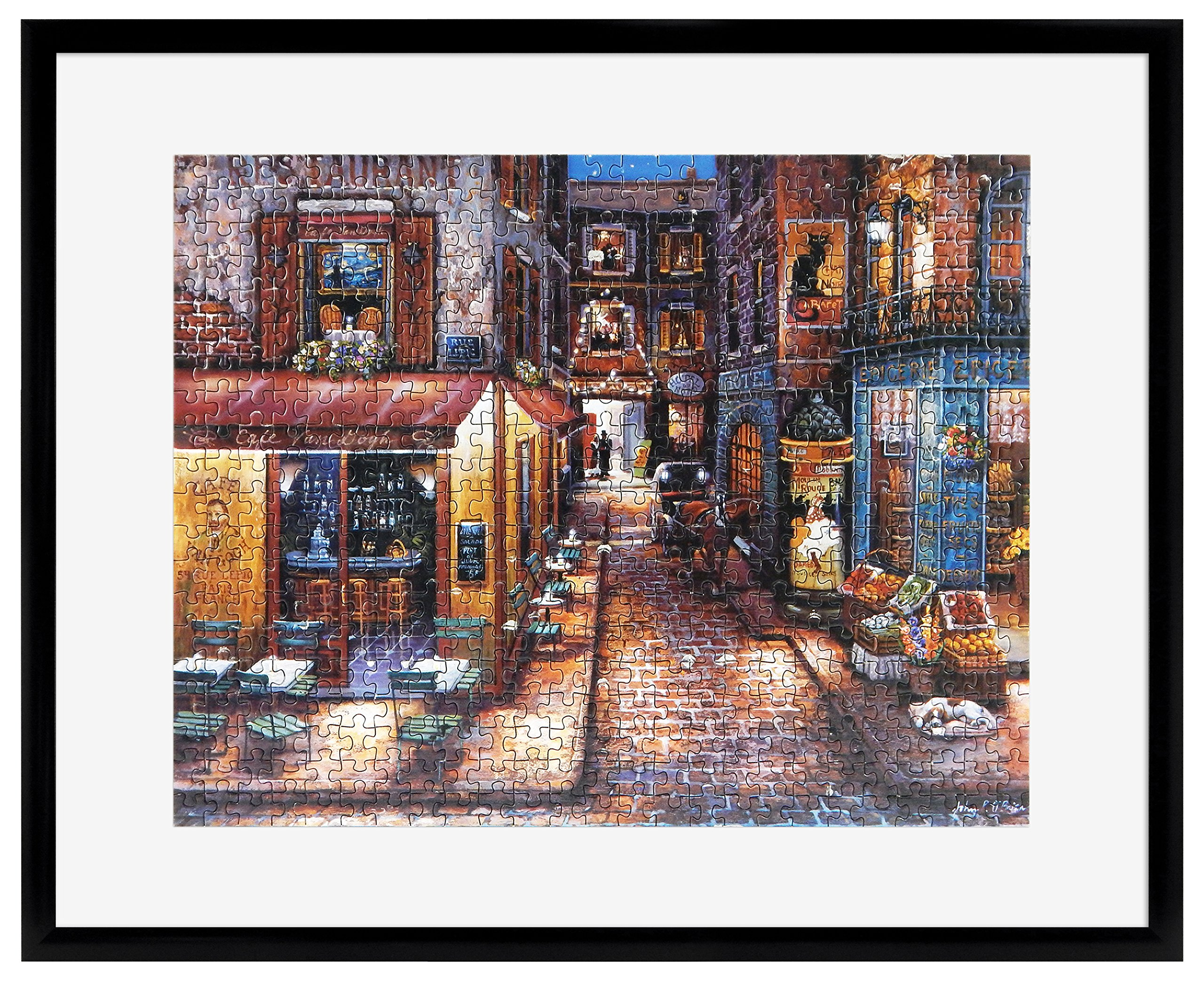 MCS Frame for Puzzle Sizes 24 Inch by 30 Inch and Smaller, Black Finish, 24''x30'',