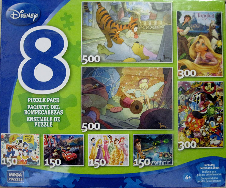 Disney 8 Puzzle Pack