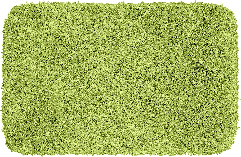 Garland Rug Jazz Shaggy Washable Nylon Rug, 24-Inch by 40-Inch, Lime Green