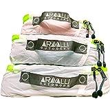 Aravalli Outdoors Ultralight Traveler Silnylon Packing Cube Set (3 pcs)