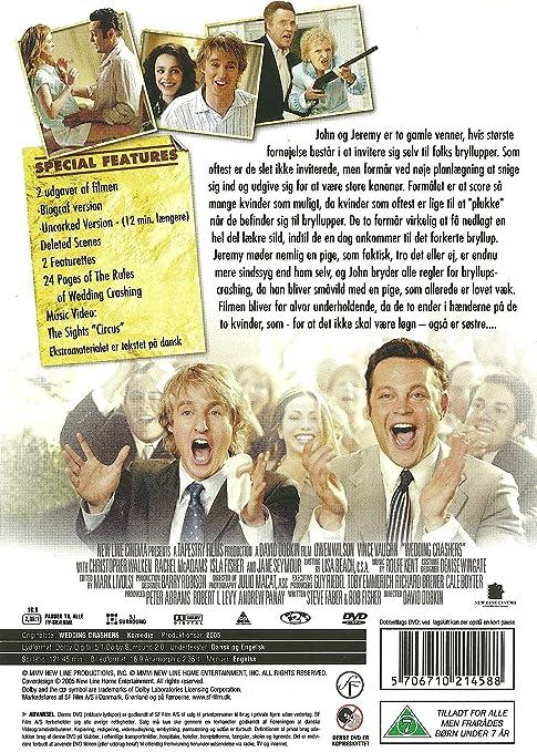 Wedding Crashers Amazoncouk Owen Wilson David Dobkin Dvd Blu Ray