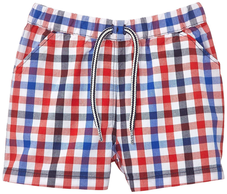 Baby Petit Bateau Baby Boys Format Check Swim Shorts