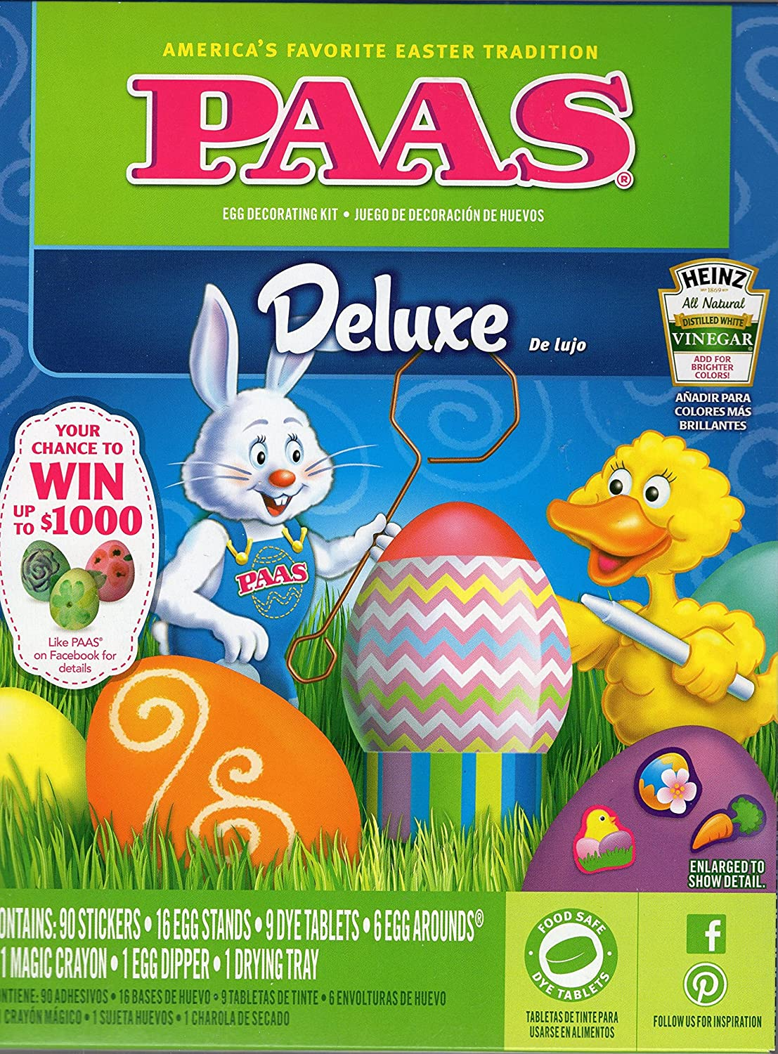 Amazon com paas friends egg decorating kit large kitchen dining
