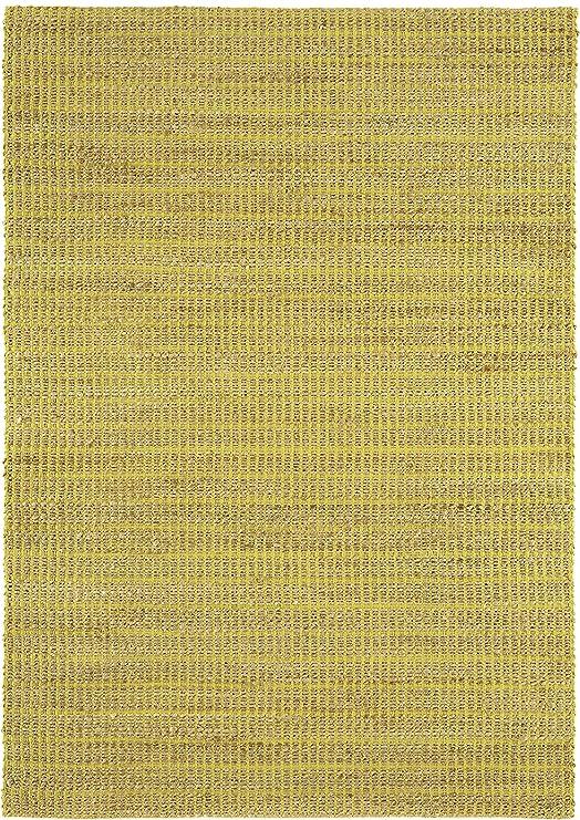 NOVATREND Alfombra Yute y algodón Explorer, Lima, 160 x 230 cm: Amazon.es: Hogar