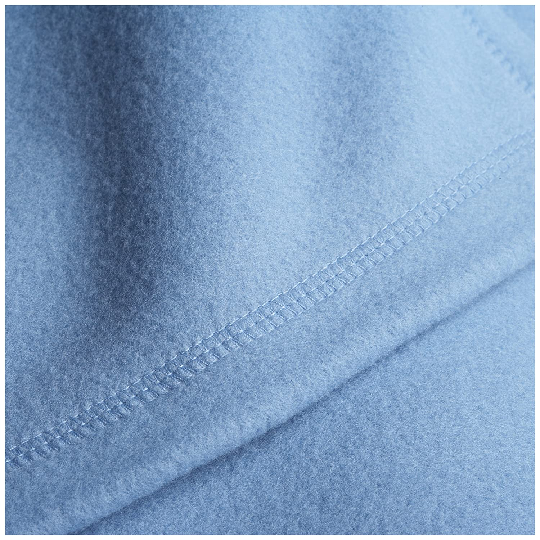 Amazon.com: Martex Super Soft Fleece Blanket - Twin, Warm, Lightweight,  Pet-Friendly, Throw for Home Bed, Sofa & Dorm - Slate Blue: Home & Kitchen