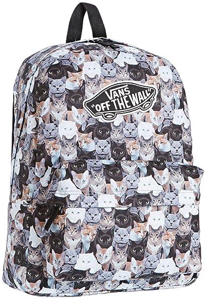 Mochila Vans x ASPCA gatos Cats Realm  Amazon.es  Ropa y accesorios 36eca85413f