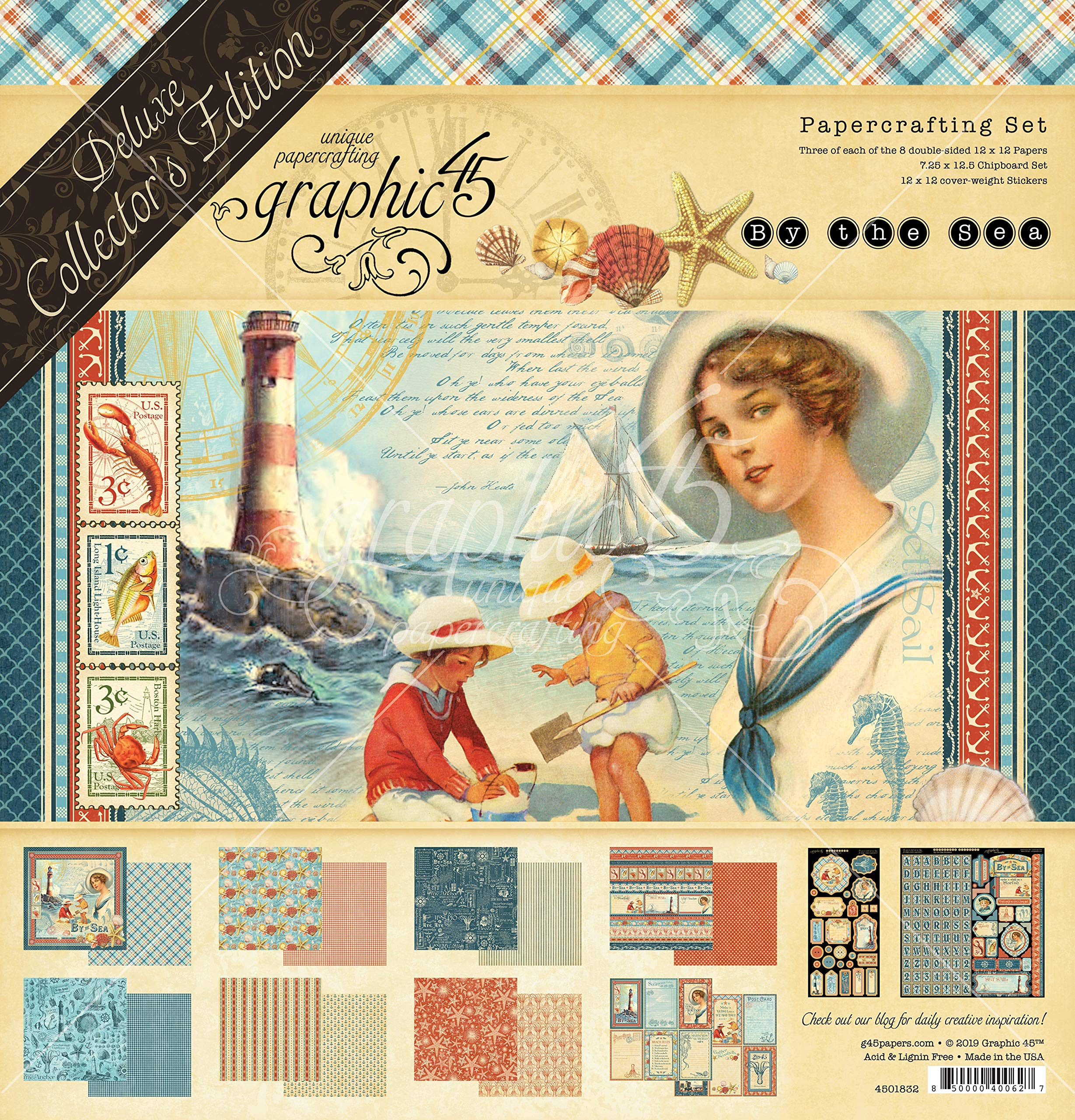 Graphic 45 by The Sea Deluxe Collector's Edition