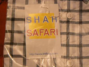 Shah Safari Back to the Futre Costume Shirt