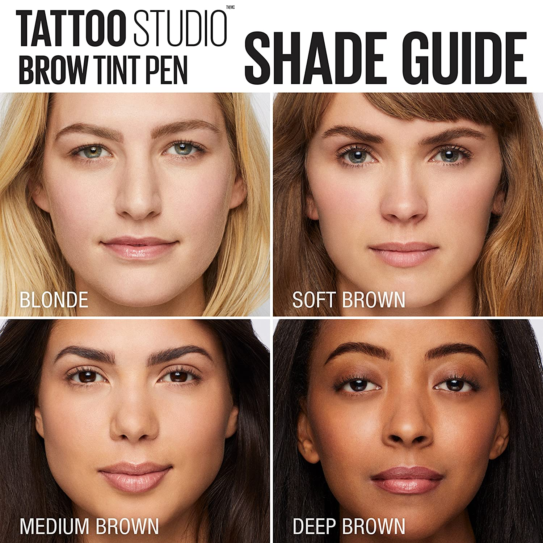 Amazon Maybelline Tattoostudio Brow Tint Pen Makeup Beauty
