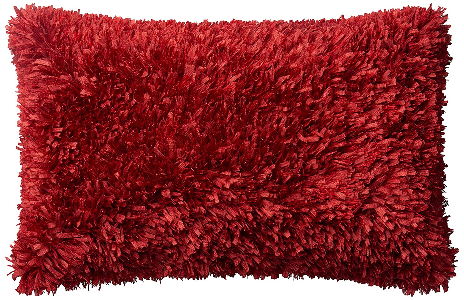 ArtVerse Katelyn Smith 20 x 20 Faux Suede Double Sided Print with Concealed Zipper /& Insert Red /& Black Skull Pillow