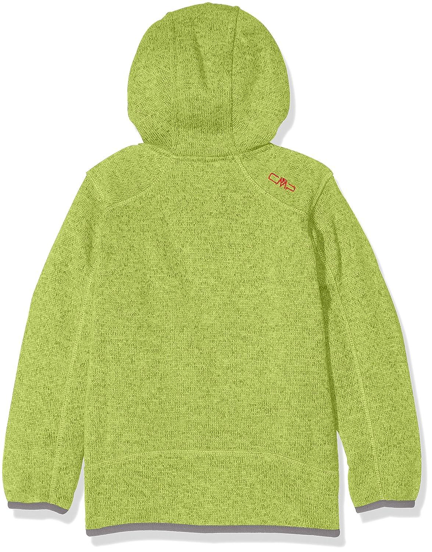 CMP Jungen Fleecejacke Knitted Fix Hood