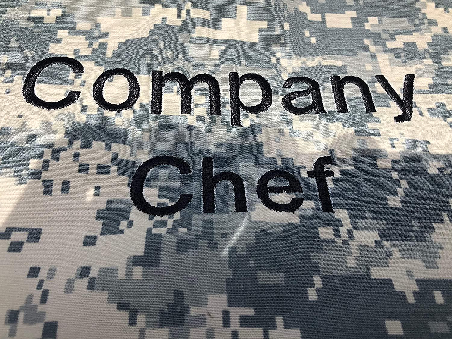 Personalized Chef BEANIE Hat CAMO Camouflage Digital ACU Adjustable all sizes Custom Embroidery CHEFSKIN usa18pers