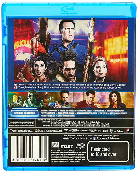 Ash V Evil Dead: Season 2 [2 Disc] (Blu-ray): Various Others