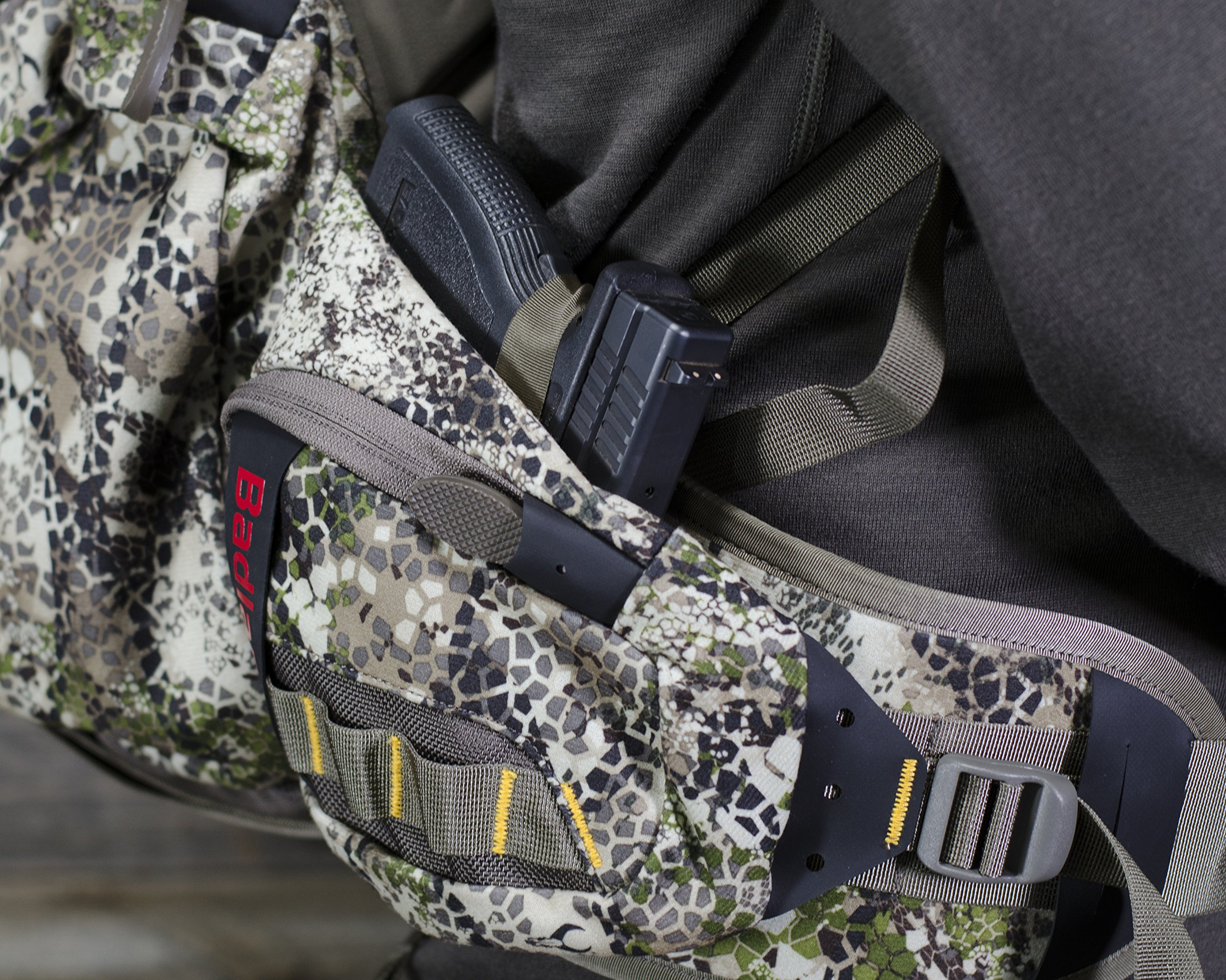 Badlands Superday Camouflage Hunting Backpack - Bow, Rifle, and Pistol Compatible, Approach Camo by Badlands (Image #6)