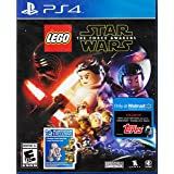 Playstation 4 - LEGO Star Wars: The Force Awakens With Exclusive Topps LEGO Star Wars Galactic Connexions Trading Disc Inside