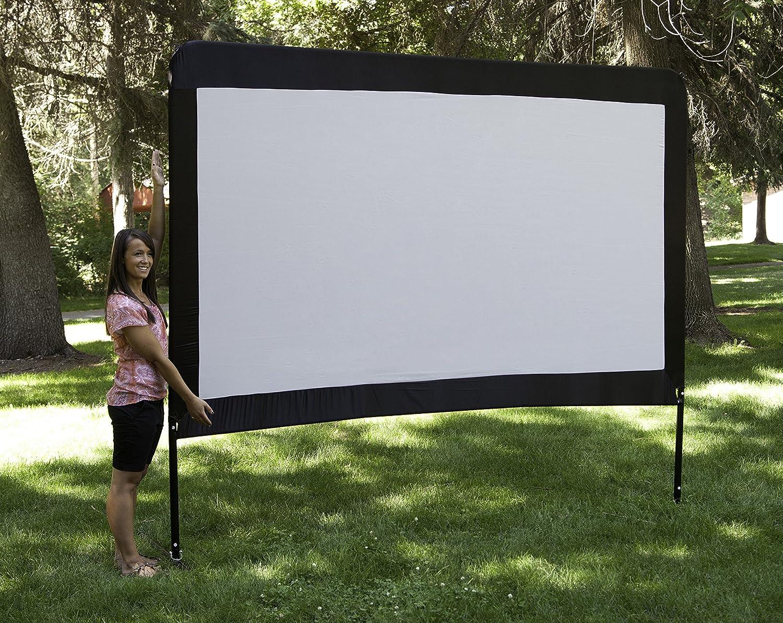 Amazon.com: Camp Chef 120-Inch Portable Outdoor Movie Theater Screen ...