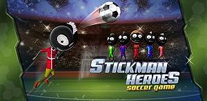 Stickman Heroes : Soccer Game from ViMAP Runner Fun Game