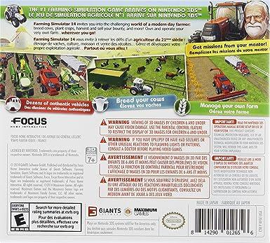 Farming Simulator 14 [Importación Inglesa]: Amazon.es: Videojuegos