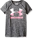 Under Armour Girls' Novelty Big Logo Short Sleeve T-Shirt