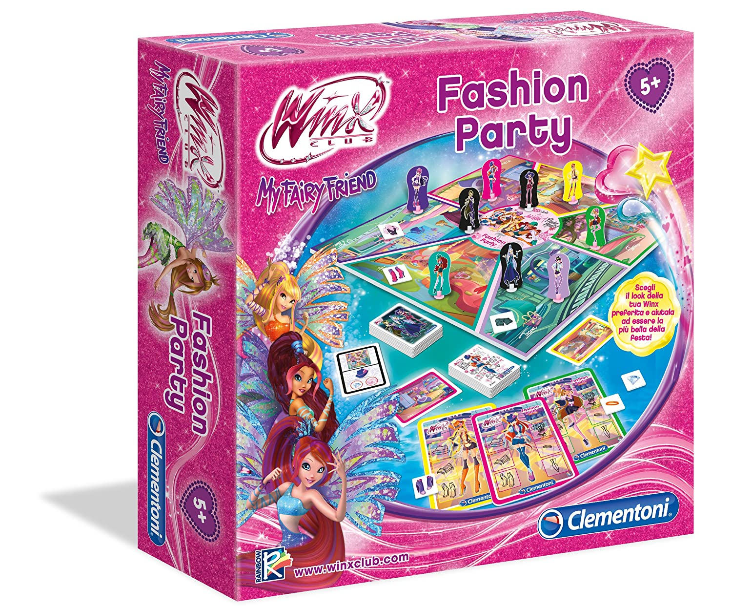 Clementoni 11909 - Winx Fashion Party