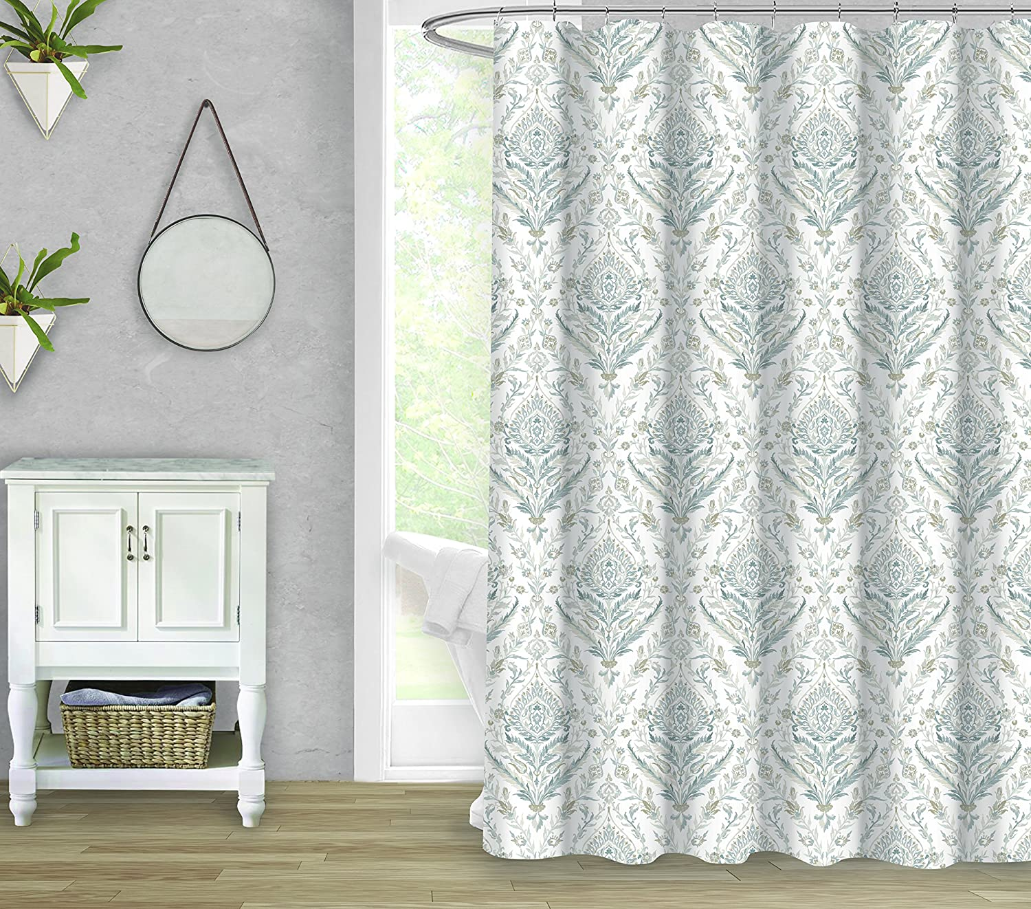 shower ralph l curtain your large luxury lauren for online rod curtains shopping coastal spa sailor fabric caro shaped brands bathroom price tiered quilted bath master