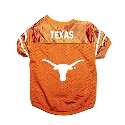 designer fashion ae7b4 20d0c TEXAS LONGHORNS DOG JERSEY-UNIVERSITY OF TEXAS DOG SHIRT FOOTBALL JERSEY