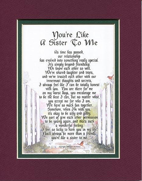 Un Cadeau Poème Pour Une Meilleur Ami Comme Une Sœur Autre