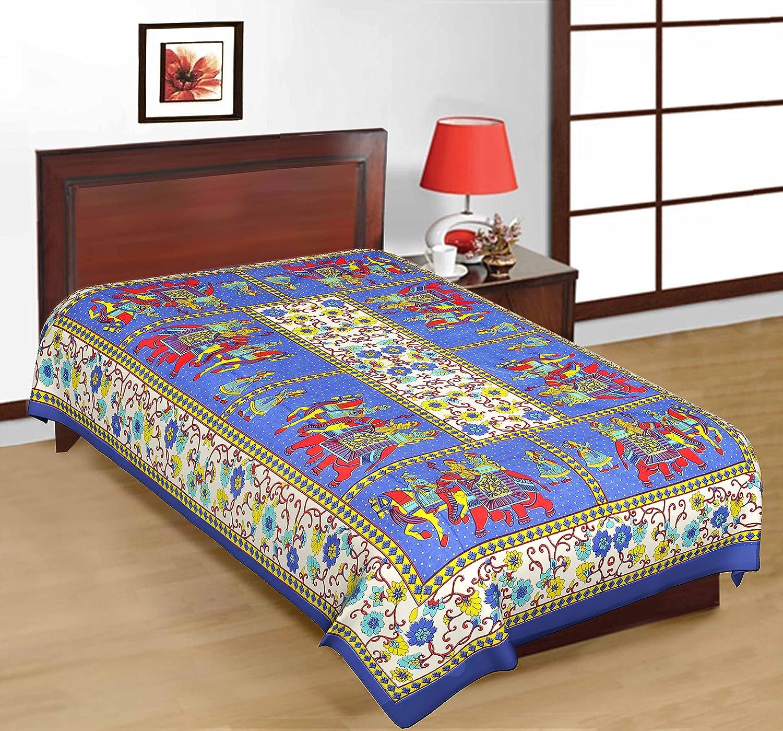 UniqChoice 4 Piece 250 TC Cotton Single Bed Sheet Set, Red: Amazon.in: Home  U0026 Kitchen
