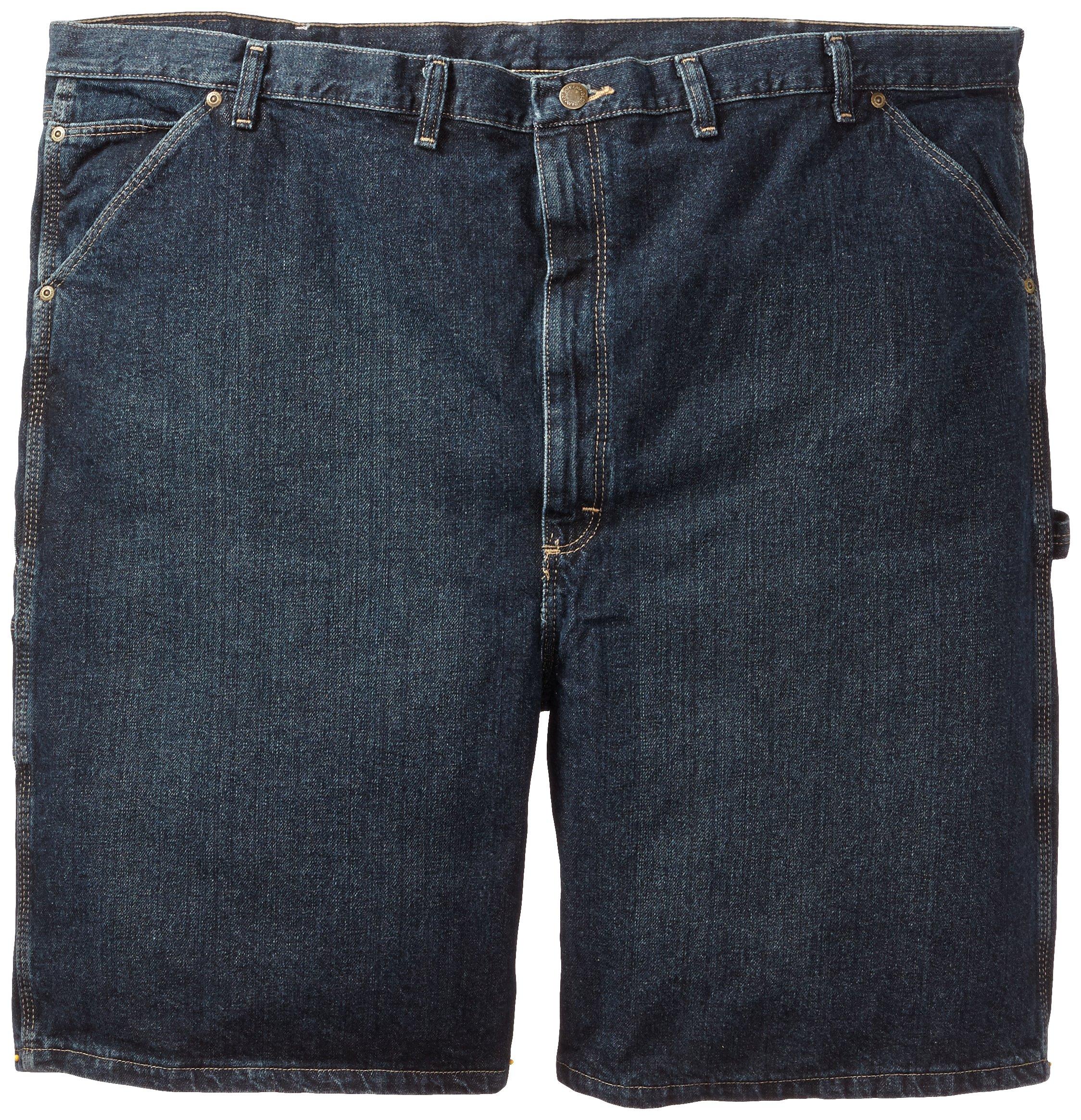 Wrangler Men's Extra Big Rugged Wear Carpenter Short Dark Quartz,46