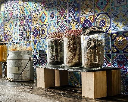 Patchwork piastrelle in ceramica vietrese amazon casa