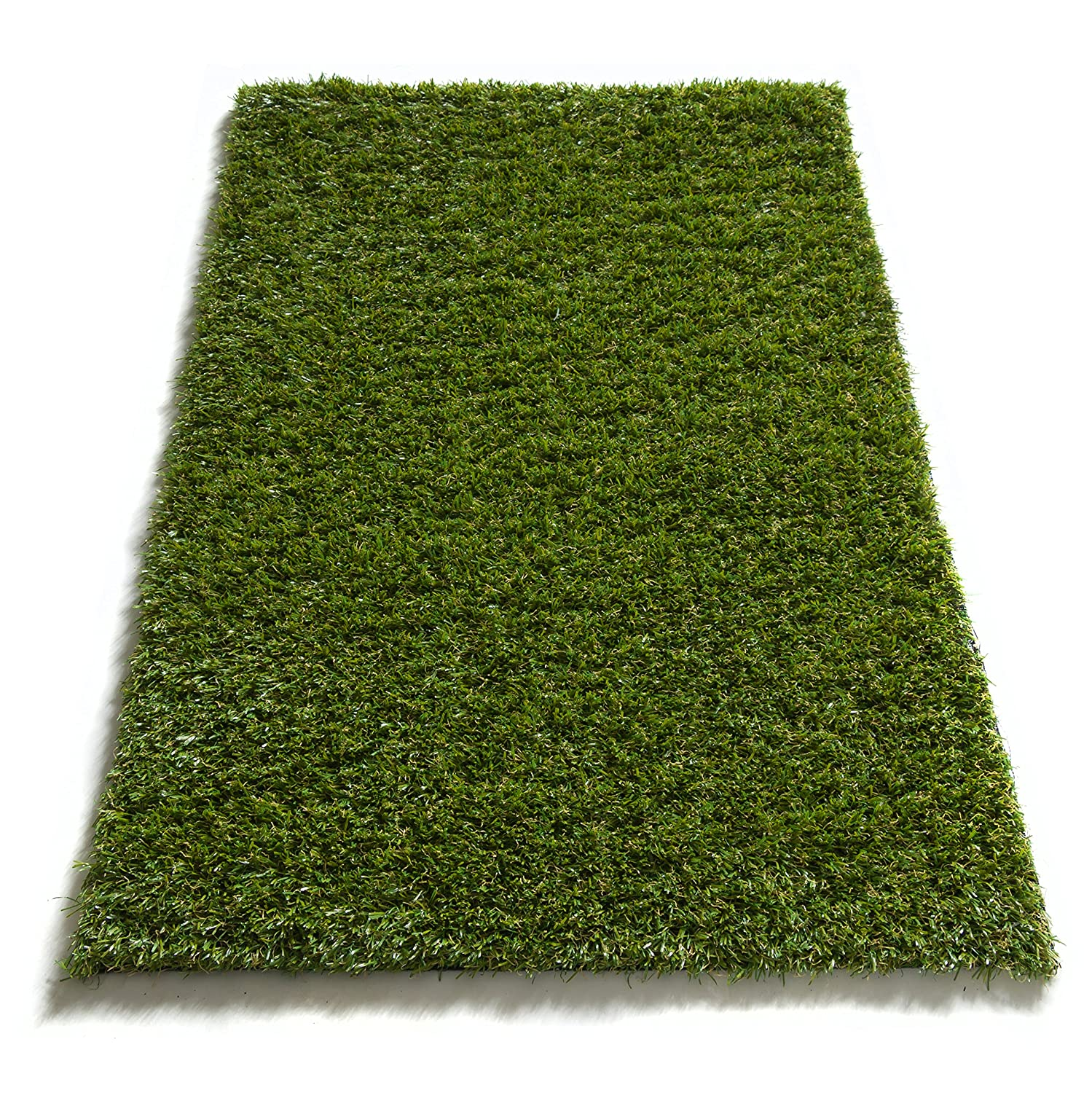 "Pet Pad Indoor / Outdoor Artificial Grass Carpet Fade Resistant Easy Care Synthetic Turf 20""X31"" Mat by Well Woven"