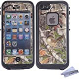 Wisdompro® Colorful Decorative Vinyl Decal Skin Stickers for Lifeproof iPhone 5/5s/SE Fre Case (Tree Camo)