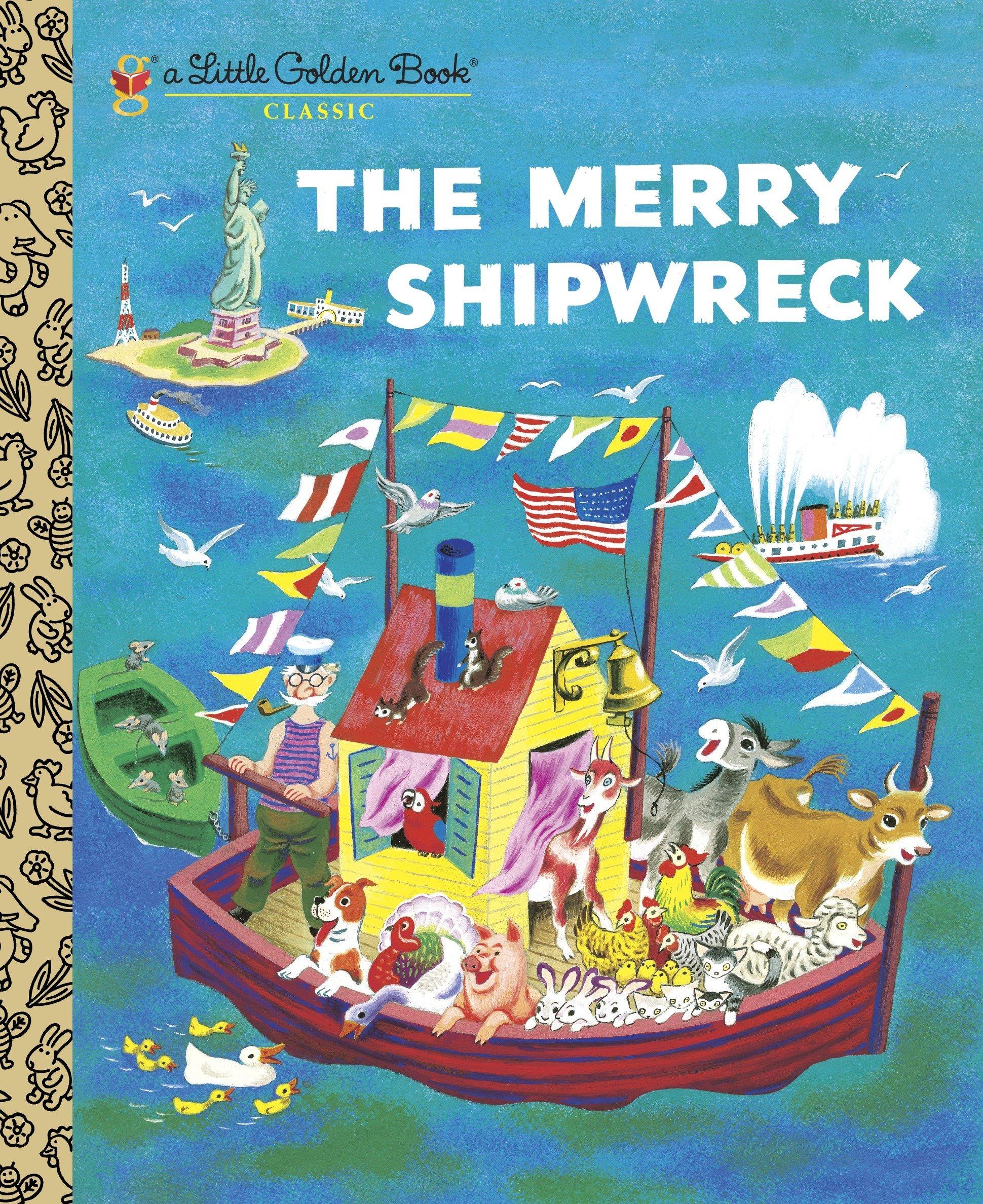 The Merry Shipwreck (Little Golden Book Classic)