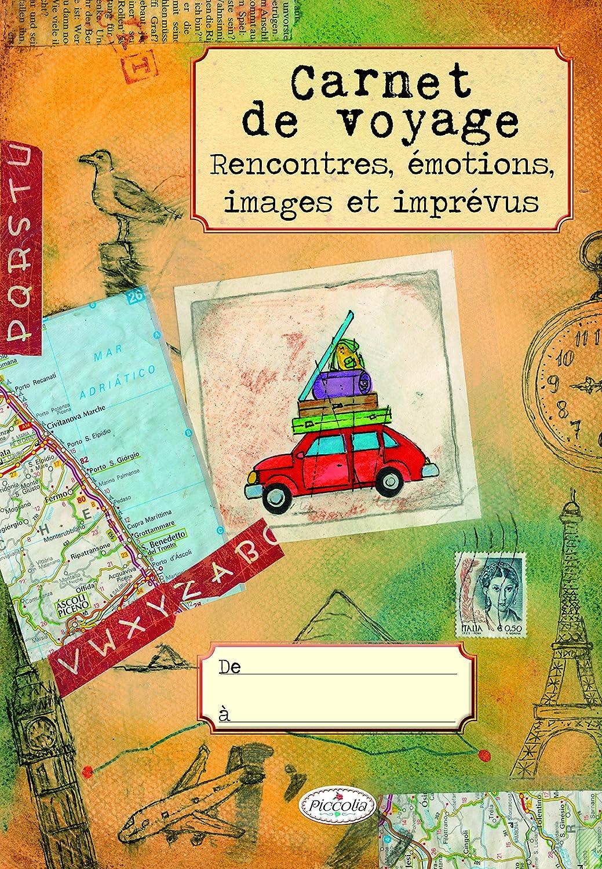 Carnet de voyage Piccolia DB9644 Récits de voyage LIVRES PRATIQUES