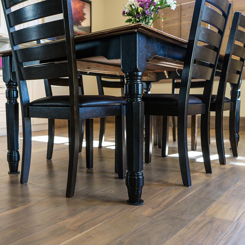 Stay! Furniture Pads, Round Furniture Grippers, Gripper Pads, Furniture  Pads for Hardwood Floors and Carpet, Anti-Slip, Black, Set of 4 (2 inch)