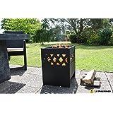 La Hacienda 56126 Ottawa Fire Basket - Black