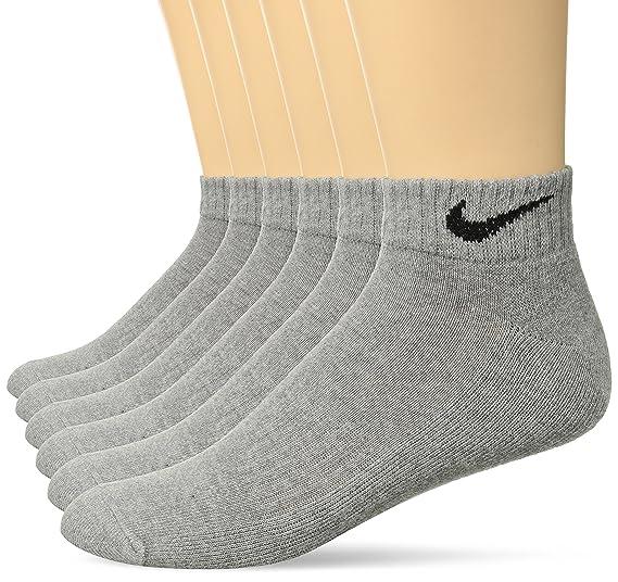 on sale c04a1 dbc56 Amazon.com  NIKE Performance Cushion Low Rise Socks with Bag (6 Pairs)   Clothing