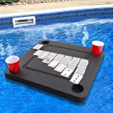 Polar Whale Floating Game or Card Table Tray for Pool or Beach Party Float Lounge Durable Foam 23.5 Inch Drink Holders with W