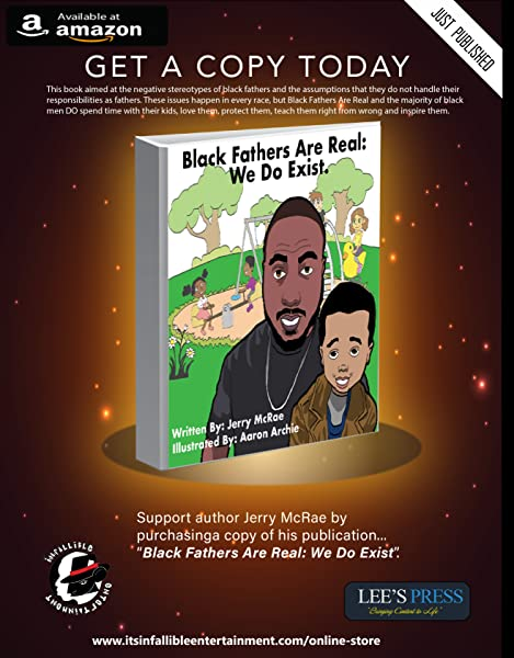 Black Fathers Are Real We Do Exist Jerry Mcrae 9780999310328